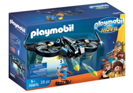 70071 - PLAYMOBIL: THE MOVIE Robotitron met drone