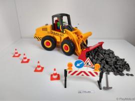 Playmobil 3934 - Wiellader, gebruikt