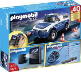 Playmobil 5528 - RC-politiewagen met cameraset MISB