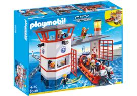 Playmobil 5539 - Kustwachtcentrale met vuurtoren