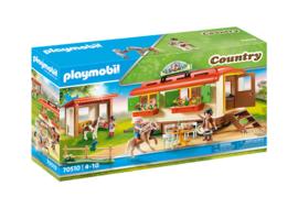 Playmobil 70510 - Ponykamp aanhanger