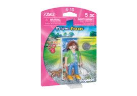 Playmobil 70562 - Playmo-friends Vrouw met kittens