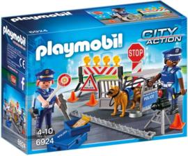 Playmobil 6924 - Politie wegversperring