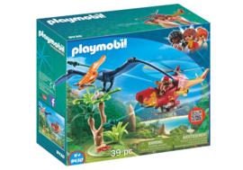 Playmobil 9430 - Helikopter met Pteranodon