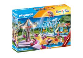 Playmobil 70558 - Promopak Kleine kermis met verlichting