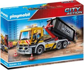 Playmobil 70444 - Vrachtwagen met wissellaadbak