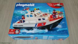 Playmobil 4448 - Kustwacht schip, gebruikt