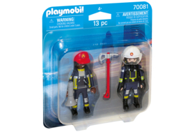 Playmobil 70081 - DuoPack Brandweer