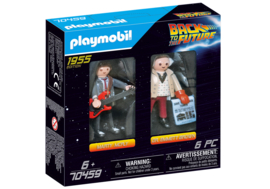 Playmobil 70459 - DuoPack Marty McFly en Emmet Brown