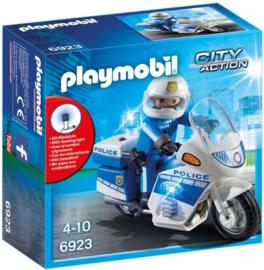 Playmobil 6923 - Politiemotor met LED-licht
