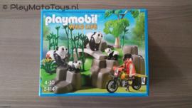 Playmobil 5414 - Pandaonderzoeker in het bamboebos