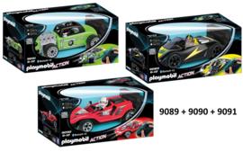 Playmobil 9089-9091 - RC Racer Bundel