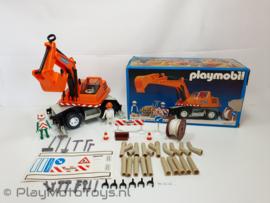 Playmobil 3472x - Graafmachine Superset, gebruikt met doos