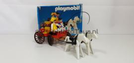 Playmobil 3587 - Western Farm Wagon, gebruikt met doos