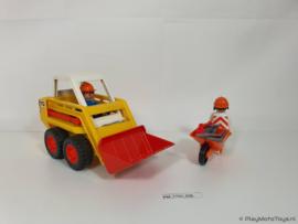 Playmobil 3507 - Minilader (v2), gebruikt