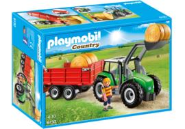 Playmobil 6130 - Tractor met aanhangwagen