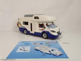 Playmobil 4859 - Familie Camper, 2ehands