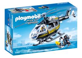 Playmobil 9363 - SIE helikopter met duiker