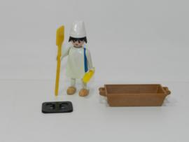 Playmobil 3371x - Middeleeuwse bakker (gebruikt)
