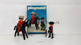 Playmobil 3581 - Sheriff & Cowboy, gebruikt met doos, V1
