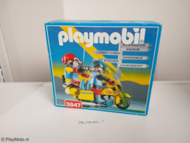 Playmobil 3847 - Mobile TV crew on motorcycle