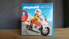 Playmobil 5544 - Ambulance motor met zwaailicht