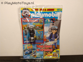 Playmobil Tijdschrift nr.5/16, Politieduiker