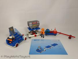 Playmobil 4315 - Vliegtuigtrap en vrachtafhandeling, gebruikt & compleet.