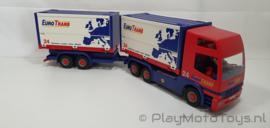 Playmobil 4323 - Truck and Trailer, gebruikt.