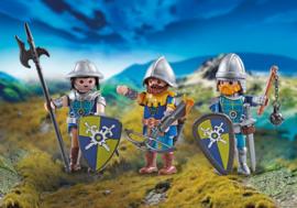 Playmobil 9836 - 3 Novelmore ridders