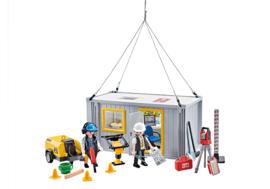 Playmobil 9843 - Bouwvakkers met Container