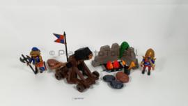 Playmobil 6039 - Leeuwenridders Katapult, 2ehands.