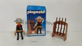 Playmobil 3381 - Sheriff, gebruikt met doos
