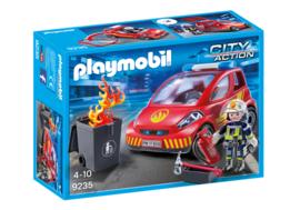 Playmobil 9235 - Brandweer Commandant met interventievoertuig