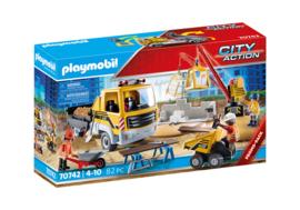 Playmobil 70742 - Bouwplaats met kiepwagen