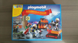 Playmobil 5495 - Adventskalender Brandweer