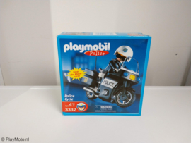 Playmobil 3332 - Police Motorcycle (USA Exclusive)