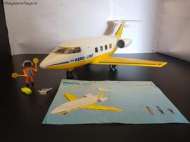 Playmobil 3185 - Passagiers vliegtuig, gebruikt & compleet.