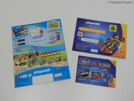 Playmobil: The Movie - Catalogus 2019 + Stickeralbum + Flyer