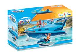 Playmobil 70630 - Funpark jacht met waterscooter