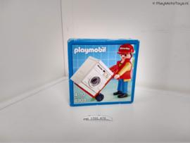 Playmobil 4903 - Miele vertegenwoordiger met wasmachine Promo, V2 MISB