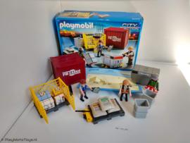 Playmobil 5259 - Cargoteam met lading, gebruikt