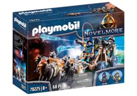 Playmobil 70225 - Novelmore ridders met waterkanon en wolven