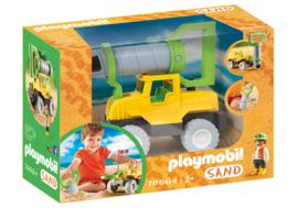 Playmobil 70064 - Vrachtwagen met zandboor