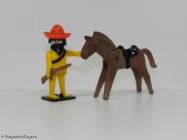 Playmobil 3343x - Bandiet te paard,  2ehands