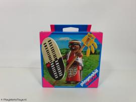 Playmobil 4685 - Zulu Warrior special, MISB