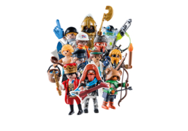 Playmobil 70369 + 70370 Display Complete Series 18