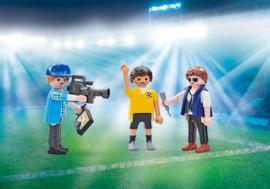 Playmobil 9825 - TV team interview