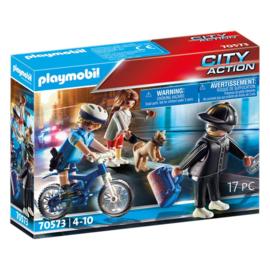 Playmobil 70573 - Achtervolging van de zakkenroller