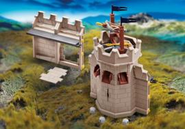Playmobil 9840 - Uitbreiding toren en muur voor de Grote burcht van de Novelmore ridders